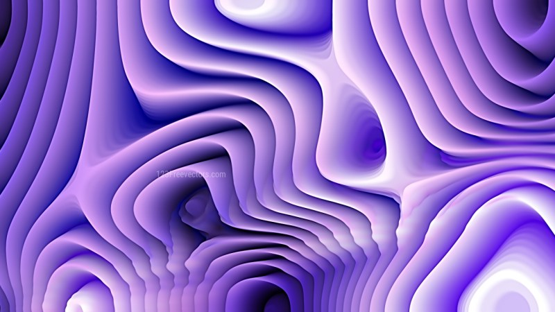 Purple and White 3d Curved Lines Texture