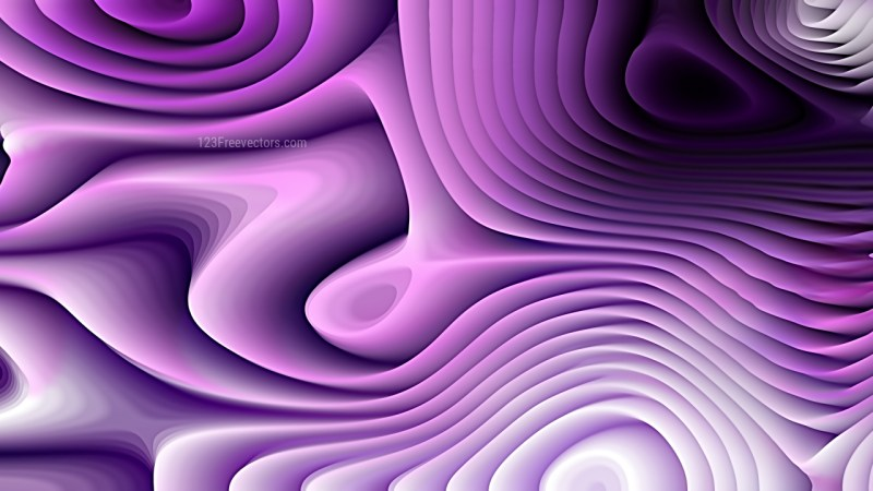 Purple Black and White Curvature Ripple Background