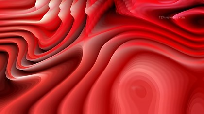 Abstract Red Curvature Ripple Background