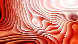 Red and White 3d Abstract Curved Lines Texture