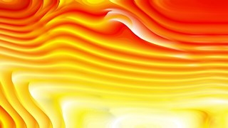 Abstract Red and Yellow Curvature Ripple Background