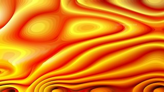 Abstract Red and Yellow Curved Lines Ripple Texture Background