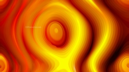 Red and Yellow Curved Lines Ripple Texture Background