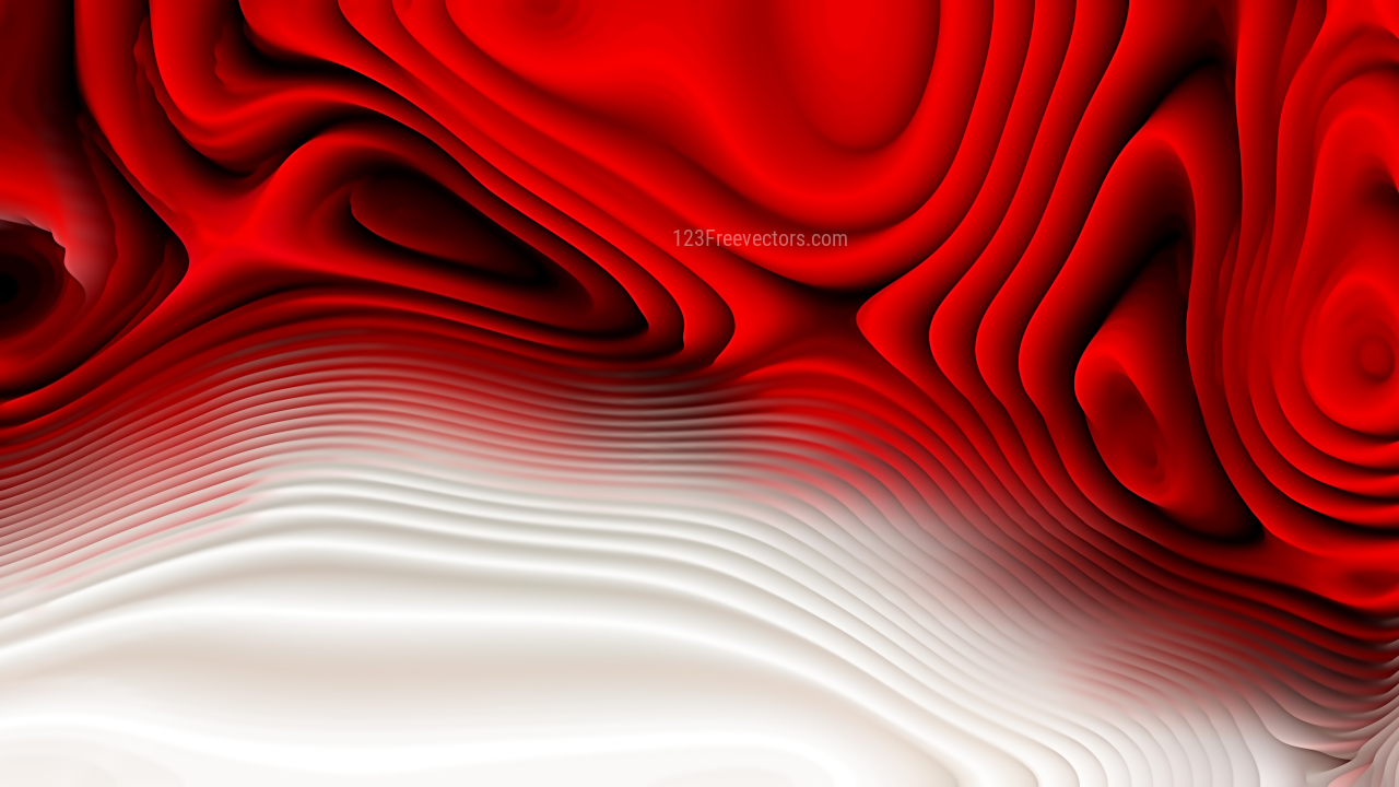 Red Black and White Curve Texture Image