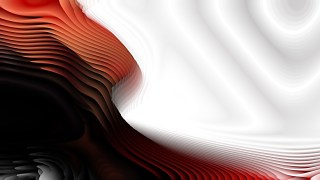 Red Black and White Curvature Ripple Background Image