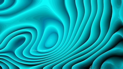 Abstract 3d Turquoise Curved Lines Ripple background
