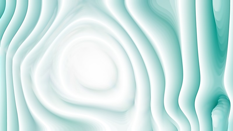 Abstract Turquoise and White Curvature Ripple Texture