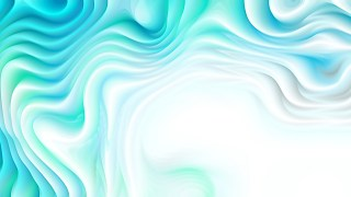 Abstract Turquoise and White Curvature Ripple Background
