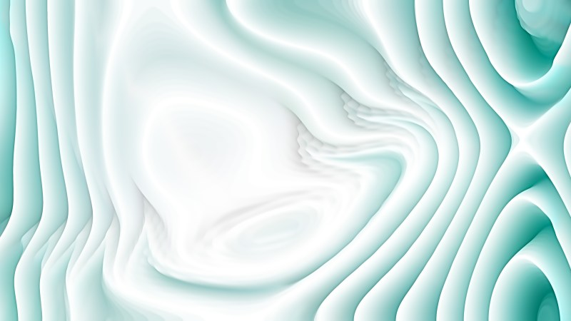 Turquoise and White Curved Background Texture