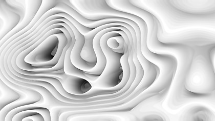 Abstract White Curve Texture