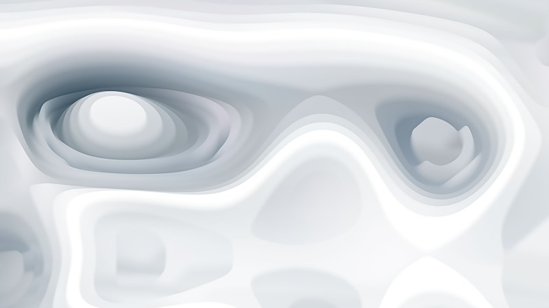 Abstract White Curvature Ripple Background Image