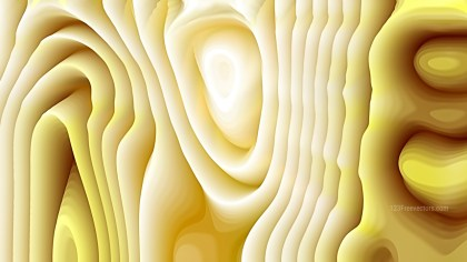 Abstract 3d White and Gold Curved Lines Texture