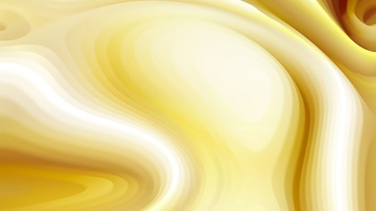 Abstract White and Gold Curvature Ripple Background Image