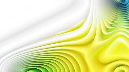 Yellow and White Curved Lines Ripple Background