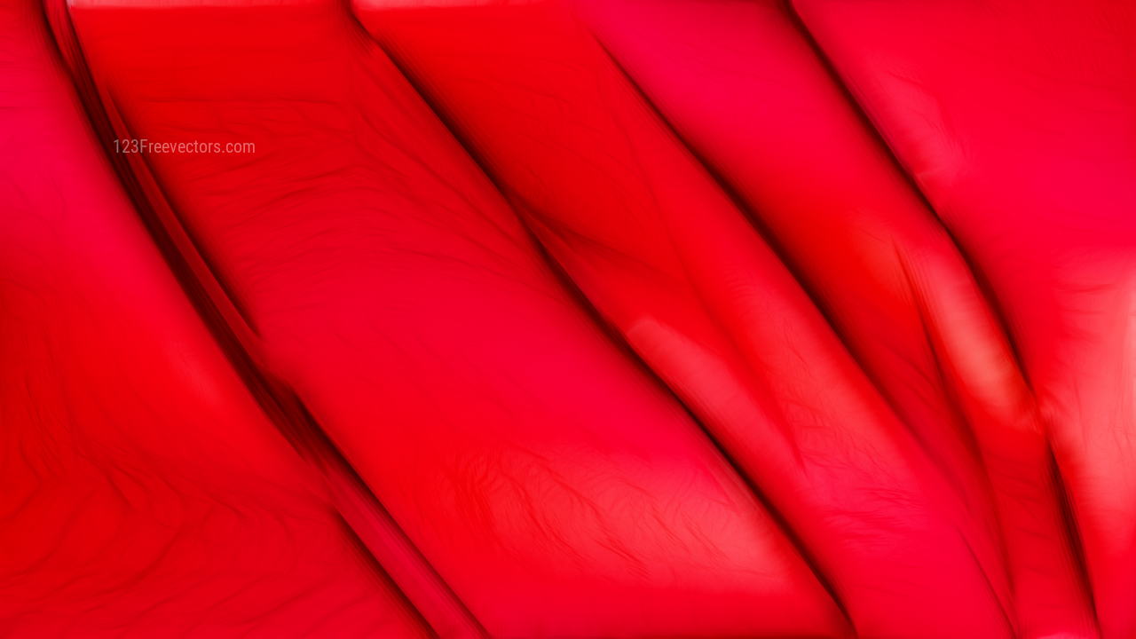 Bright Red Texture Background