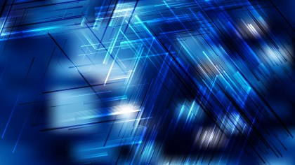Abstract Black and Blue Dynamic Random Lines Background