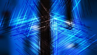 Black and Blue Chaotic Intersecting Lines Background