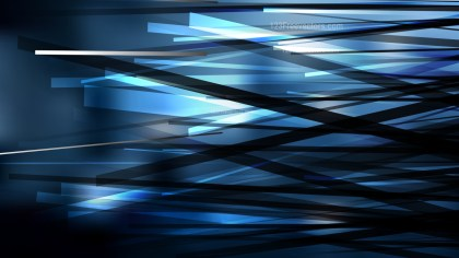 Black and Blue Chaotic Lines Background