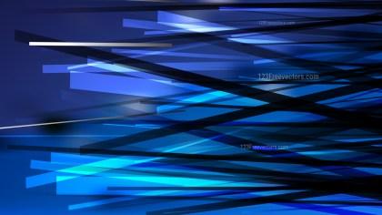 Black and Blue Geometric Random Irregular Lines Background