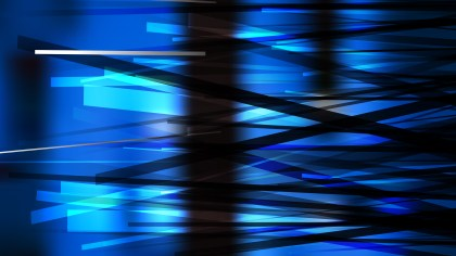 Black and Blue Random Lines Background Vector