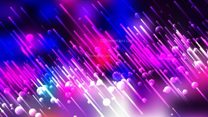 Black Pink and Blue Random Lines Abstract Background