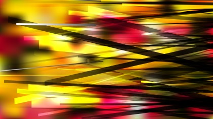 Abstract Black Red and Yellow Overlapping Lines Background
