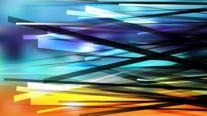 Blue and Orange Overlapping Intersecting Lines Background