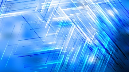 Blue and White Dynamic Irregular Lines Background