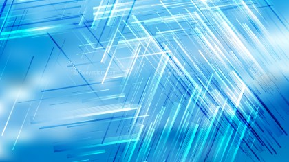 Abstract Blue and White Irregular Lines Background