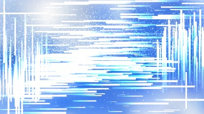 Abstract Blue and White Dynamic Irregular Lines Background