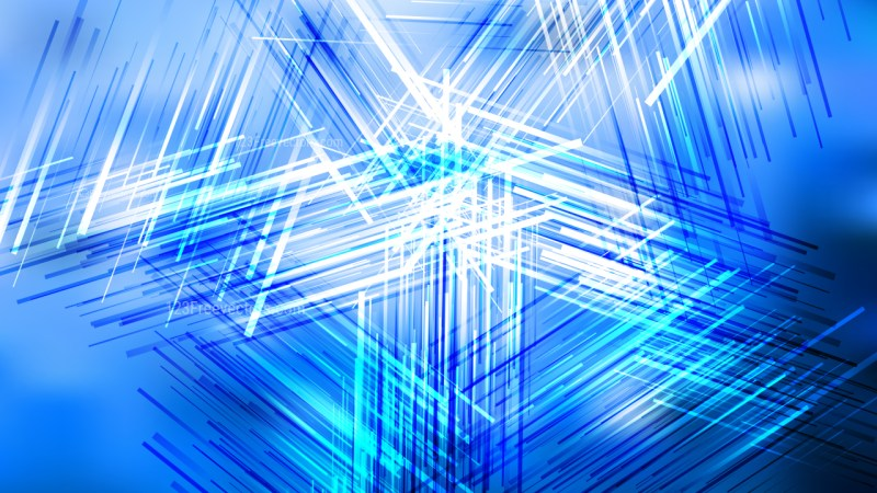 Blue and White Random Overlapping Lines Background