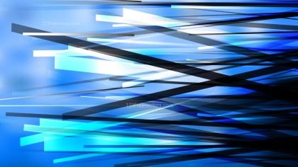 Blue Black and White Dynamic Irregular Lines Background