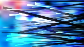 Abstract Blue Black and White Random Overlapping Lines Background
