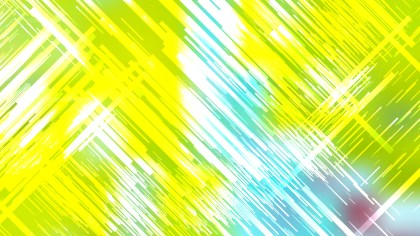 Blue Green and Yellow Diagonal Random Lines Background Graphic