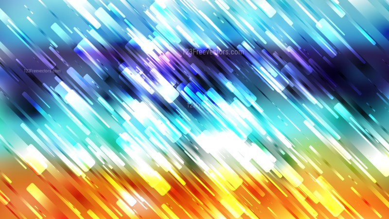Blue Orange and White Random Diagonal Lines Background Illustration