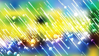 Abstract Blue Yellow and White Random Diagonal Lines Background