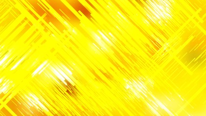 Abstract Bright Yellow Random Diagonal Lines Background