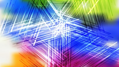 Colorful Intersecting Lines Stripes Background Vector Illustration