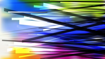 Colorful Overlapping Lines Background