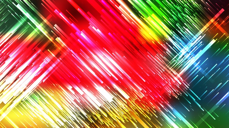 Colorful Random Diagonal Lines Background