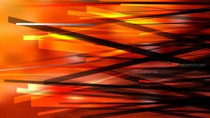 Cool Orange Random Overlapping Lines Background Design