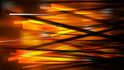 Abstract Cool Orange Overlapping Lines Background Illustration