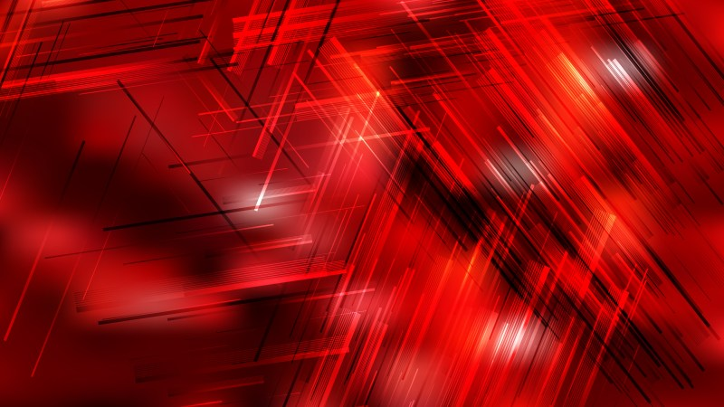 Abstract Cool Red Dynamic Random Lines Background Vector Art