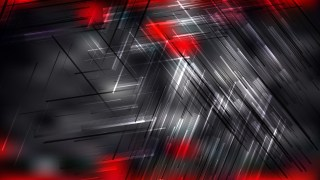 Cool Red Random Lines Background