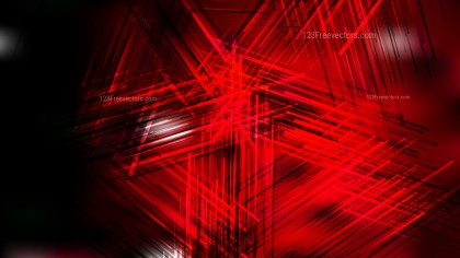 Abstract Cool Red Chaotic Overlapping Lines Background Vector Image
