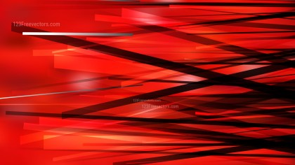 Cool Red Chaotic Overlapping Lines Background