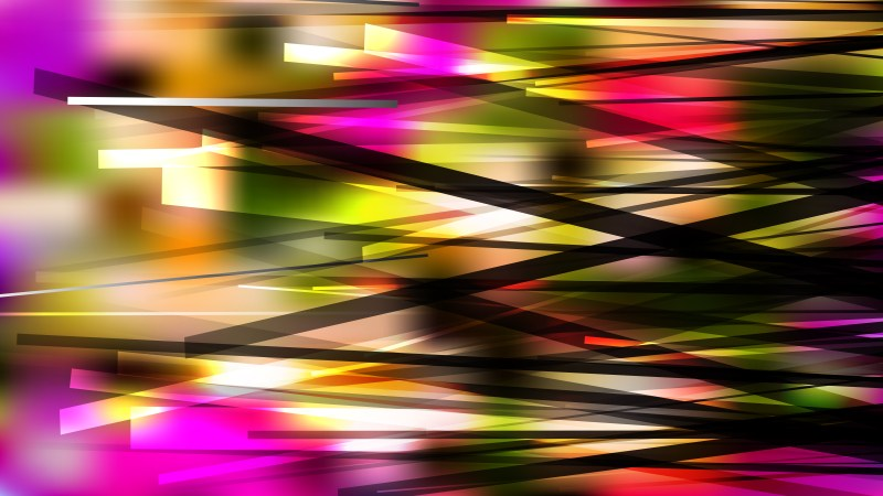 Abstract Dark Color Chaotic Overlapping Lines Background