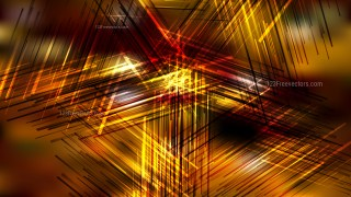 Abstract Dark Orange Chaotic Intersecting Lines Background