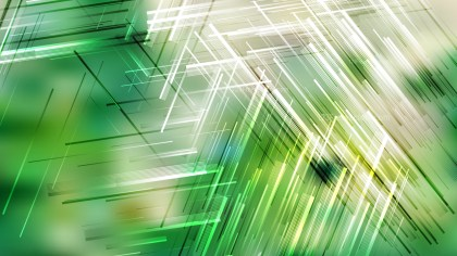 Green and White Random Lines Background Vector Art