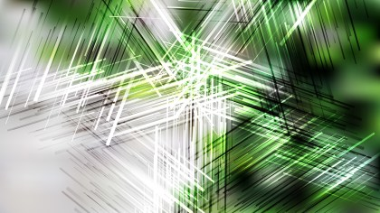 Abstract Green Black and White Chaotic Overlapping Lines Background Illustrator